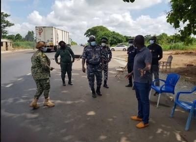 Côte d'Ivoire : Violation de consignes, un gendarme et un policier pris en flagrant délit à un corridor