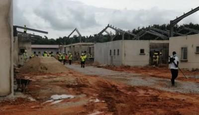 Côte d'Ivoire : Infrastructures sanitaires, le nouveau CHR d'Aboisso livré en septemb...