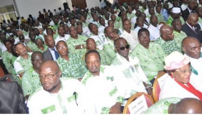 Côte d'Ivoire : Candidats à la  Convention du  PDCI, un  Bureau politique extraordinaire prévu jeudi pour statuer sur les conditions d'éligibilité