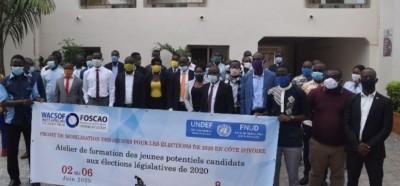 Côte d'Ivoire : Législatives 2020, 30 jeunes potentiels candidats bénéficient d'une formation pour s'imprégner du processus électoral