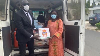 Côte d'Ivoire : Coronavirus, JJK poursuit ses actions de terrain, un don au Ministère de la Solidarité