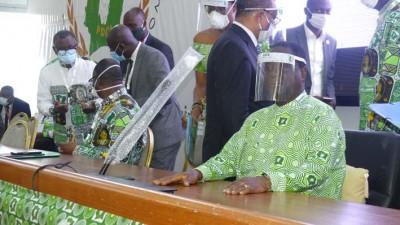 Côte d'Ivoire : Session extraordinaire du bureau politique du PDCI, communiqué final et mot de clôture de Bedié