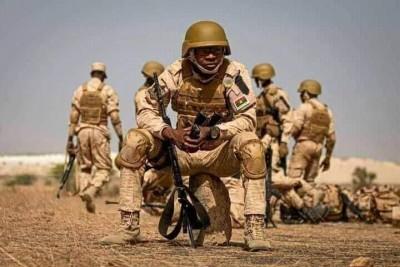 Burkina Faso : Sept terroristes abattus et un militaire tué à Kelbo