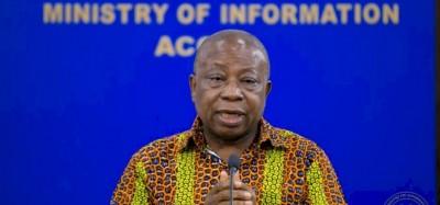 Ghana :  Covid-19, espoir pour la santé du ministre Agyeman Manu