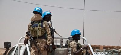 Mali : Attaque armée contre des casques bleus à Tarkint, deux morts