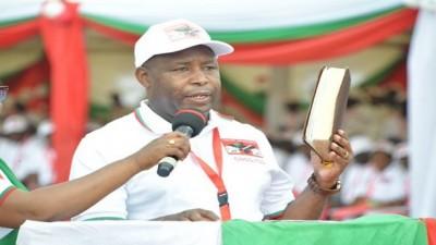 Burundi : La prestation de serment « accélérée » du Président Evariste Ndayishimiye  prévue ce jeudi