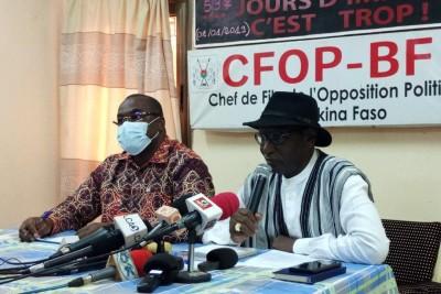 Burkina Faso : L'opposition demande au maire de Ouagadougou de rendre sa démission