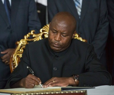 Burundi : Le Président Evariste Ndayishimiye  prend officiellement fonction