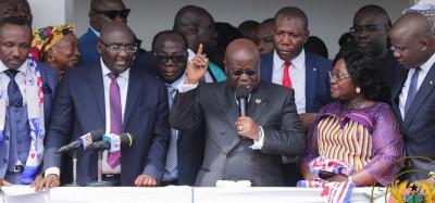 Ghana :  Présidentielle 2020, ticket pour Akufo-Addo aux élections primaires du NPP