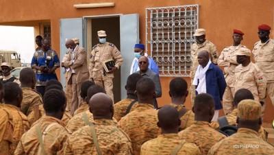 Burkina Faso : Lutte contre le terrorisme, le président du Faso galvanise les troupes à Djibo