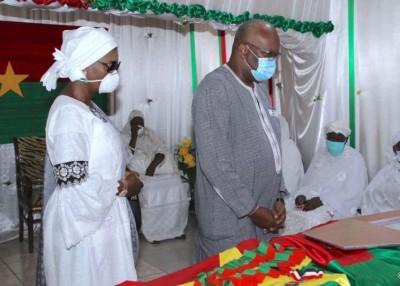 Burkina Faso : Hommage à l'ancien Grand chancelier, décédé la semaine dernière