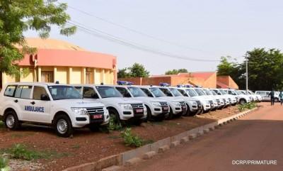 Burkina Faso : 185 ambulances remises aux communes du pays pour améliorer l'offre sanitaire