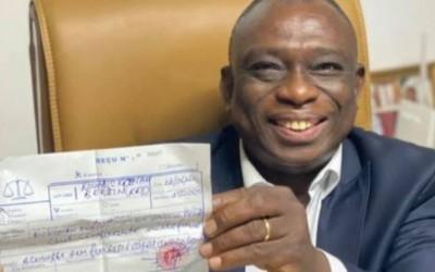 Côte d'Ivoire : Après le dépôt de sa candidature, KKB annonce sa démission de son poste de Conseiller de Bédié