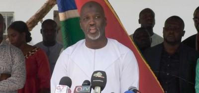 Gambie :  Démission du ministre Abubacarr Tambadou de la Justice