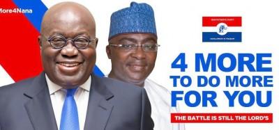 Ghana :  Présidentielle 2020, Akufo-Addo en ordre de bataille pour la victoire
