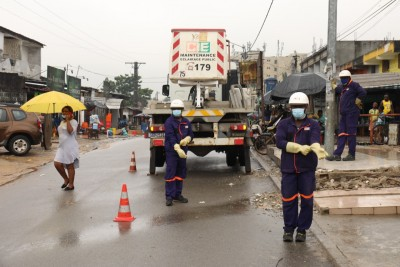 Côte d'Ivoire : Saison des pluies, la CIE rassure de son engagement  à offrir une électricité et un service de qualité accessibles à tous