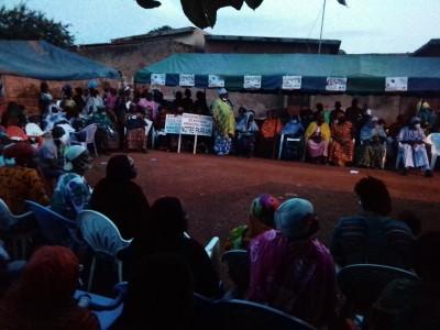 Côte d'Ivoire: Bouaké, Amadou Koné aux femmes: « Il y'a des gens qui ont trahi le Président »