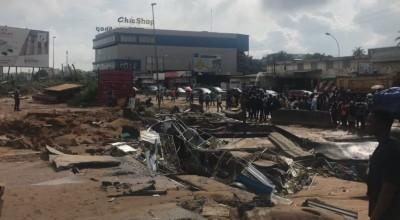 Côte d'Ivoire :   Inondations, Ouattara donne instruction de détruire les « infrastructures » des « grands bonnets » qui persistent sur les voies d'eau