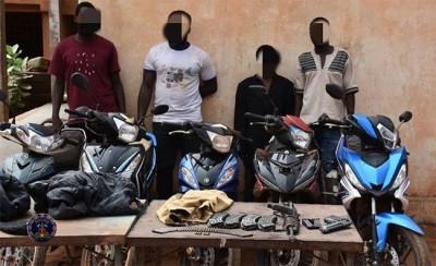 Burkina Faso : Un réseau de grands bandits démantelé par la police