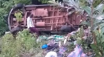 Côte d'Ivoire : Sortie de route mortelle d'un Massa en provenance de Bouaké, au moins un mort et des blessés