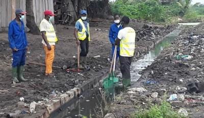 Côte d'Ivoire : Grand  Bassam, des écoulements importants  pourraient provoquer des inondations d'habitations