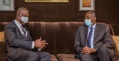 Côte d'Ivoire : Annoncé de retour sous peu, Amadou Gon réapparait aux côtés de Bandaman à Paris