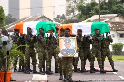 Côte d'Ivoire:  Attaque de Kafolo, la Nation rend hommage aux 14 militaires tués, la liste complète des victimes