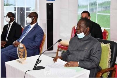 Côte d'Ivoire : Présidentielle 2020, depuis Cocody Bédié interpelle les ressortissant...