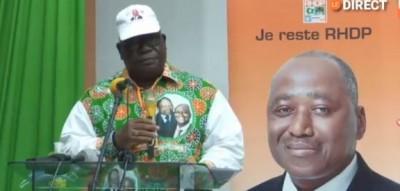 Côte d'Ivoire : Depuis Yamoussoukro, des militants du RHDP issus de l'UDPCI soutienne...