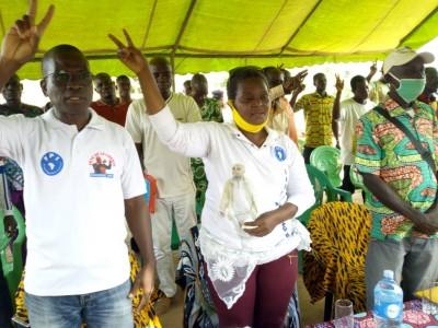 Côte d'Ivoire: Missionné par Don Mello,  le FPI depuis le Haut-Sassandra souhaite « offrir une victoire dès le premier tour à Gbagbo...»