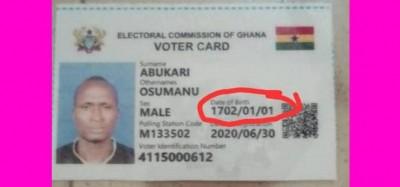 Ghana : Recensement électoral, la CE rajeunit l'électeur né en 1702