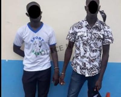 Côte d'Ivoire : A Bonoua, deux (02) individus escroquaient des pétitionnaires venus p...