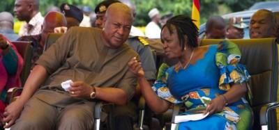 Ghana :  Présidentielle 2020, le candidat Mahama dévoile le nom de sa colistière, prof Opoku-Agyemang