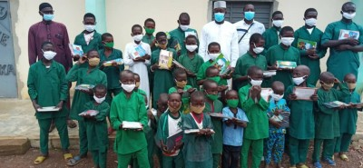 Côte d'Ivoire: Ouellé, pour les encourager dans leurs études, des élèves distingués
