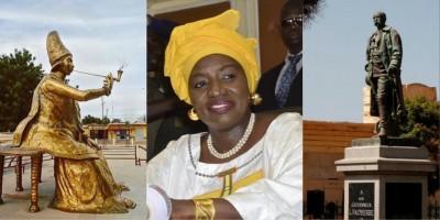 Sénégal : L'ex Premier ministre Aminata Touré pour le déboulonnement de la statue de...