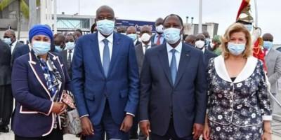 Côte d'Ivoire : Décès de Gon, Ouattara pleure son « fils, son frère qui a été pendant...