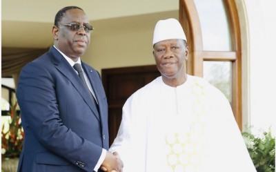 Sénégal - Côte d'Ivoire : Décès d'Amadou Gon Coulibaly, Macky Sall présente les condo...