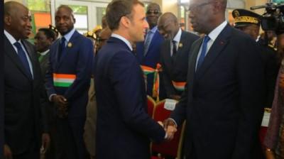Côte d'Ivoire-France : Emmanuel Macron rend à son tour hommage à feu Amadou Gon, arti...