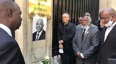 Côte d'Ivoire : Depuis Paris, des Ivoiriens rendent hommage à Gon, Maurice Bandama