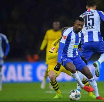 Côte d'Ivoire : En fin de  contrat avec le Hertha Berlin, Salomon Kalou s'engage avec le club Brésilien de Botafogo