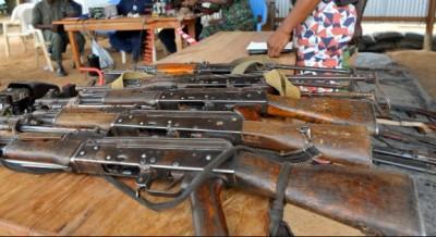 Côte d'Ivoire : Armes légères et de petit calibre, le RASALAO-CI recommande  la destruction effective des armes collectées au sein des communautés