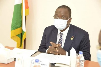 Côte d'Ivoire :  En visite de santé en Allemagne, Jeannot Ahoussou-Kouadio diagnostiq...