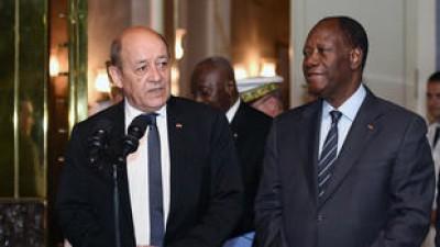 Côte d'Ivoire-France : Jean-Yves Le Drian au Pays pour les obsèques de Gon Coulibaly mais pas que...
