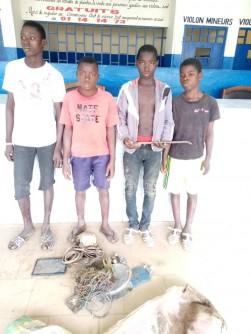 Côte d'Ivoire : À Abobo, 4 adolescents interpellés pour vol présumé par effraction