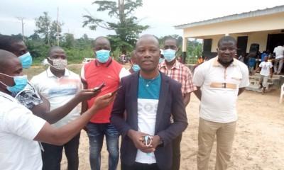 Côte d'Ivoire : A Bangolo, fin de calvaire pour des écoliers, un cadre achève la construction d'un bâtiment de trois classes