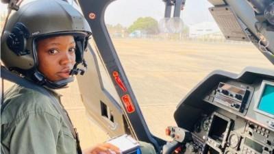 Nigeria : Tolulope Arotile, première femme pilote d'hélicoptère de combat meurt dans un accident