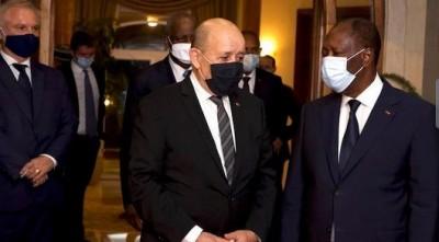 Côte d'Ivoire : La France rassurée d'apprendre qu'Alassane Ouattara accepterait de se représenter