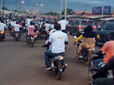 Côte d'Ivoire: Décès de Gon, les derniers hommages des populations ivoirienne à Korho...