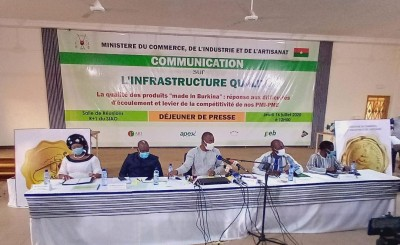 Burkina Faso : Le pays veut certifier une centaine de produits locaux pour faciliter l'écoulement et la compétitivité