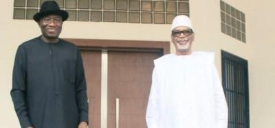 Mali : Espoir d'une sortie de crise, premières rencontres, Goodluck se prononce